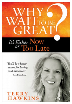 Why Wait to be Great? by Terry Hawkins