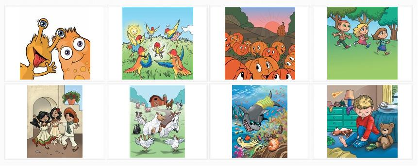 Visit the Cartoon Sample Illustrations Gallery