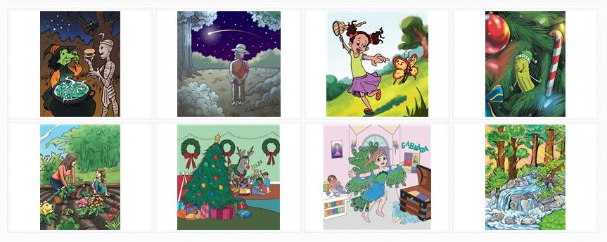Visit the Juvenile Sample Illustrations Gallery